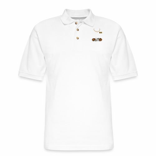Junior Ranger Grizzly - Men's Pique Polo Shirt