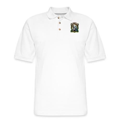 Insomnia Brazilian Jiu Jitsu - Men's Pique Polo Shirt