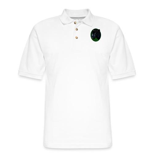 Big Black Jaquar - Men's Pique Polo Shirt