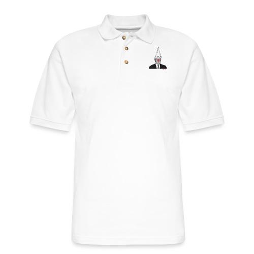 Trump Dunce - #CreateTheCool - Men's Pique Polo Shirt