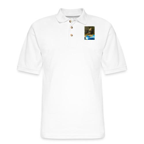 jump clothing - Men's Pique Polo Shirt