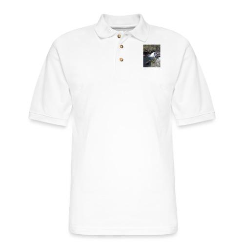 LRC waterfall - Men's Pique Polo Shirt