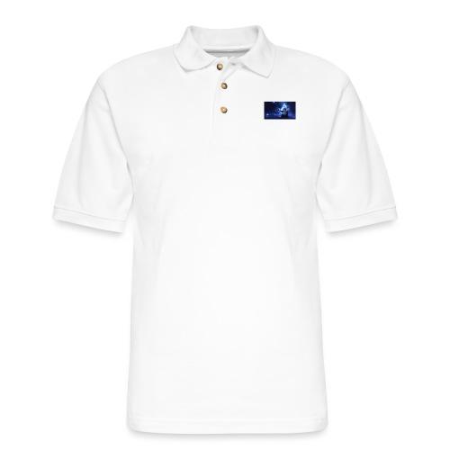 """""""LyricTheMusic Sky"""" MERCH - Men's Pique Polo Shirt"""