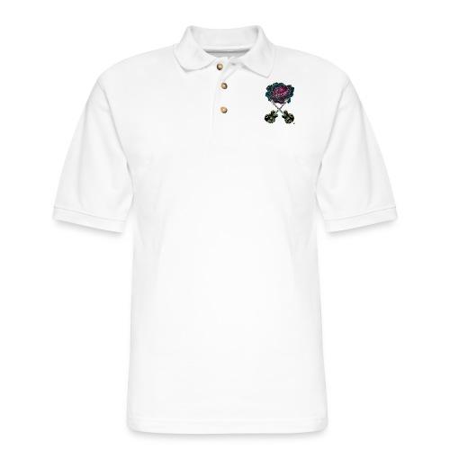 Black Rose - Men's Pique Polo Shirt