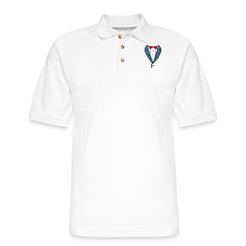 Star Spangled Tuxedo T-Shirt - Men's Pique Polo Shirt
