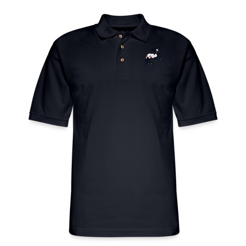 Appaloosa War Pony - Men's Pique Polo Shirt