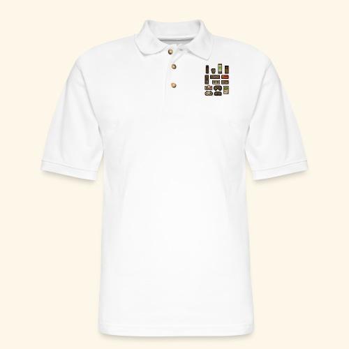 pixelcontrol - Men's Pique Polo Shirt