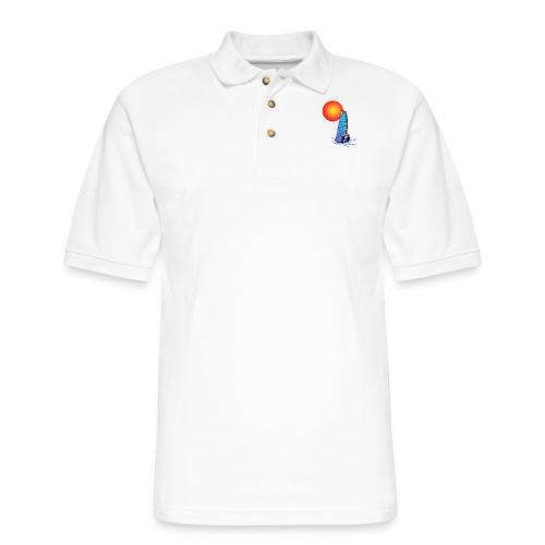 Wind Surf - Men's Pique Polo Shirt