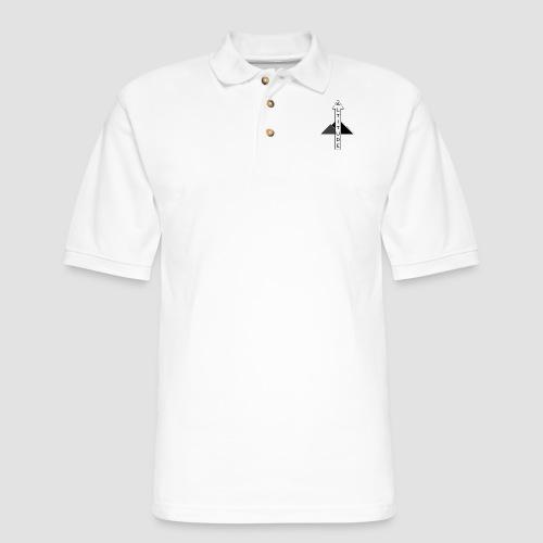 Altitude Arrow Mountain - Men's Pique Polo Shirt