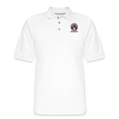Meditating Goddess - Men's Pique Polo Shirt