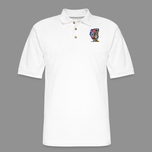 The Weight of Resentment - Men's Pique Polo Shirt