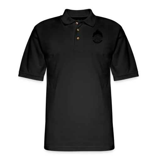 In Wanderlust We Trust - Men's Pique Polo Shirt