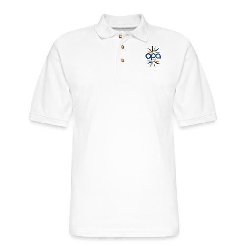 iPhone case with full color OPA logo - Men's Pique Polo Shirt