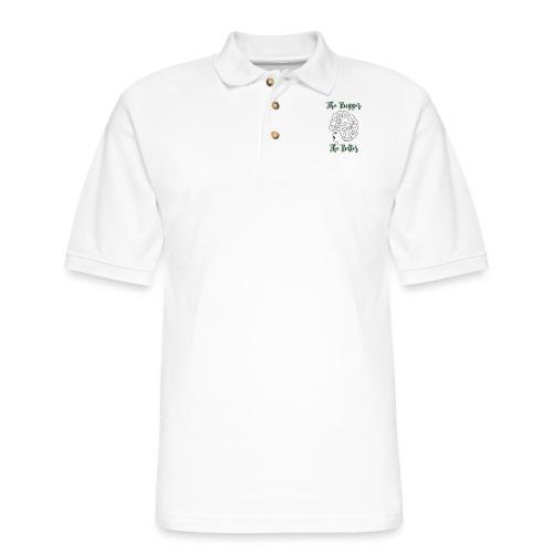 The Bigger The Better - Men's Pique Polo Shirt