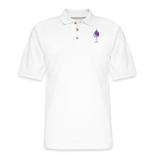 Oil Me Up Scotty - Men's Pique Polo Shirt