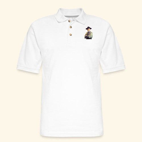 Robert Baden Powell (Small) - Men's Pique Polo Shirt
