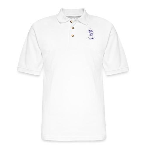 bitumen don't kill my vibe - navy - Men's Pique Polo Shirt