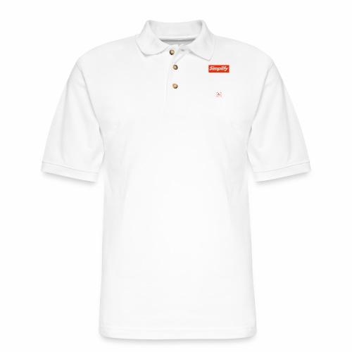 Simplify [fbt] - Men's Pique Polo Shirt