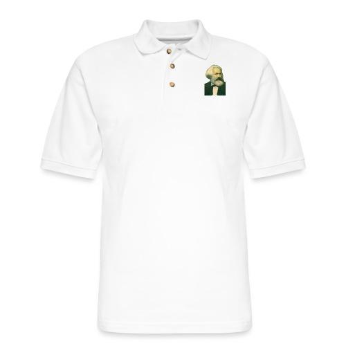 Karl Marx Portrait - Men's Pique Polo Shirt