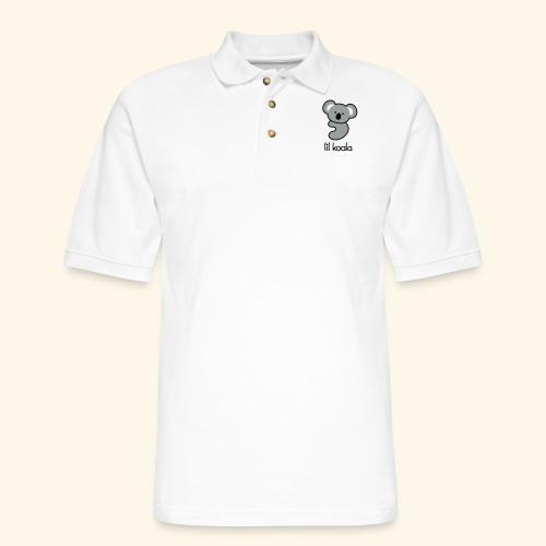 lil koala - Men's Pique Polo Shirt