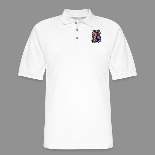 Take a Number - Men's Pique Polo Shirt