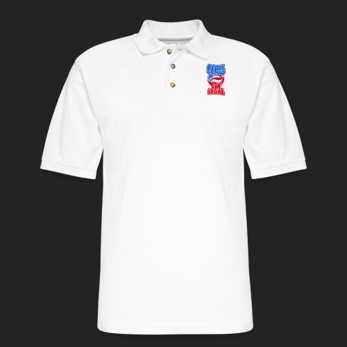 Relax gringo im legal - Men's Pique Polo Shirt