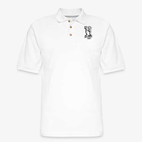 mr and mrs frank final - Men's Pique Polo Shirt