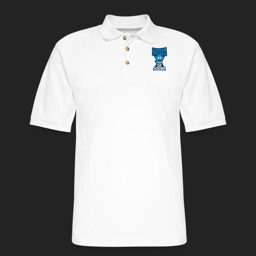 Llegue con ganas de joder - Men's Pique Polo Shirt