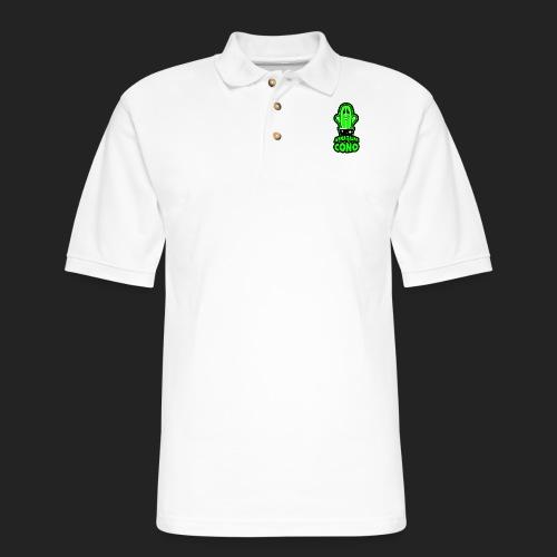 Abrazame coño - Men's Pique Polo Shirt
