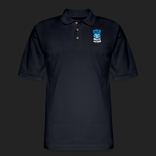 Esto es pa picar no pa jaltarse - Men's Pique Polo Shirt