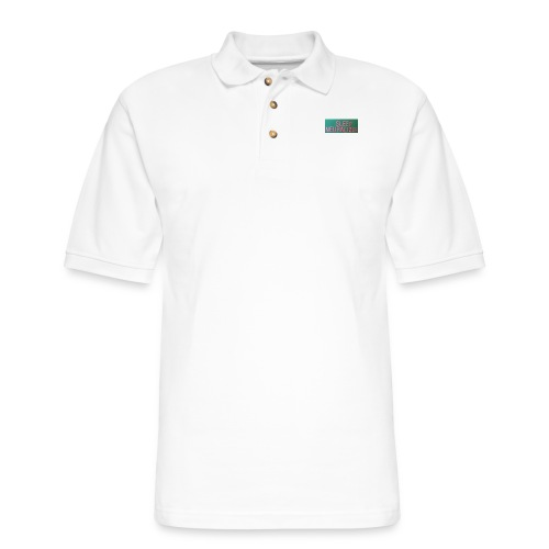 SleepNeuralizerWords - Men's Pique Polo Shirt
