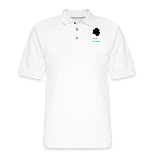 Merry Trumpmas Green - Men's Pique Polo Shirt