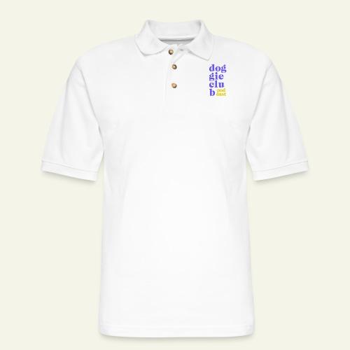 syllables purpie - Men's Pique Polo Shirt