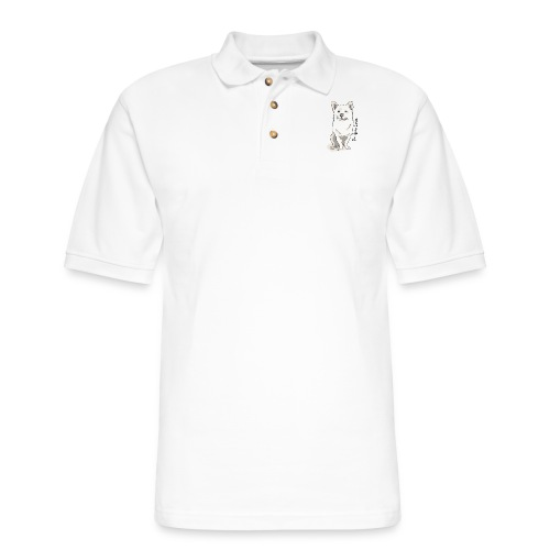 Saving Korean Mutts Project - Men's Pique Polo Shirt