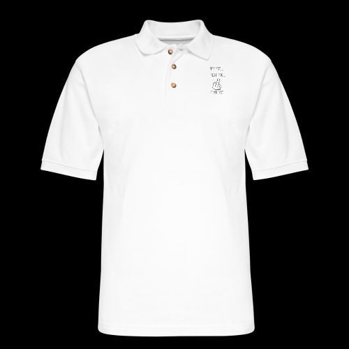 Hey You - Men's Pique Polo Shirt