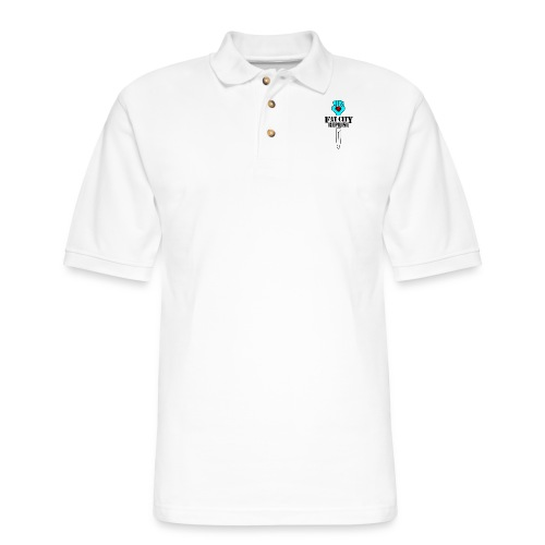 Fat City Fist - Men's Pique Polo Shirt