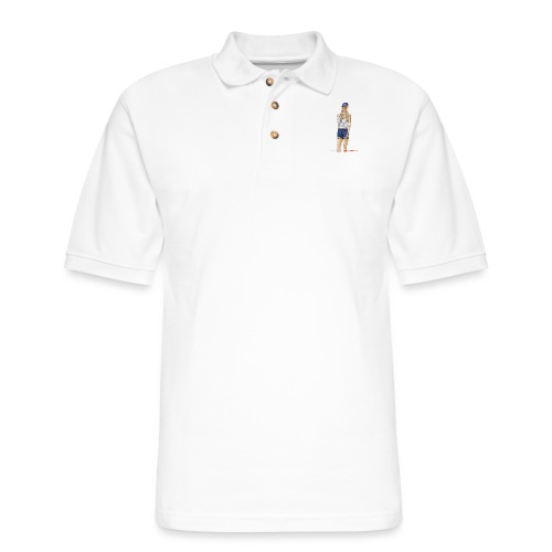 Gina Character Design - Men's Pique Polo Shirt