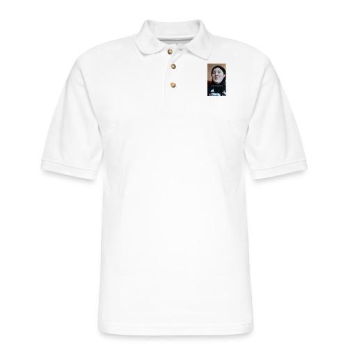 Felt Cute, Might Delete Later - Men's Pique Polo Shirt