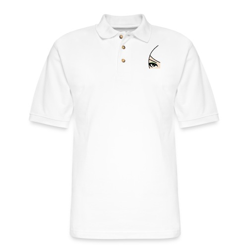 Banzai Chicks Single Eye Women's T-shirt - Men's Pique Polo Shirt