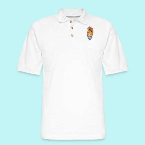 ERYKAH BADU SKULLY - Men's Pique Polo Shirt