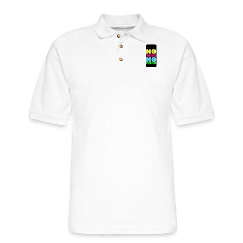 neonnosleevesiphone5 - Men's Pique Polo Shirt
