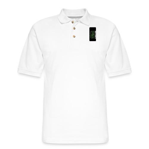 syntiphone5 - Men's Pique Polo Shirt