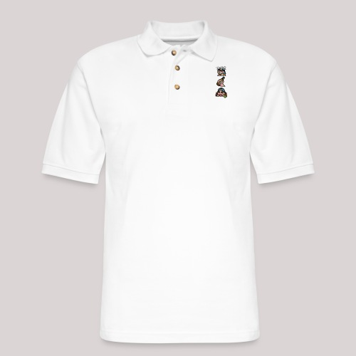 Stages of a Bogan - Men's Pique Polo Shirt