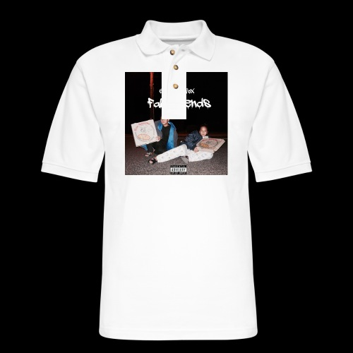 FAKE FRIENDS ALBUM TEE - Men's Pique Polo Shirt