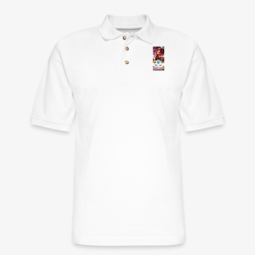 Phone Case Test png - Men's Pique Polo Shirt