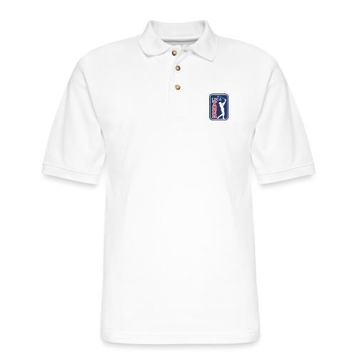 LSGA logo golf - Men's Pique Polo Shirt