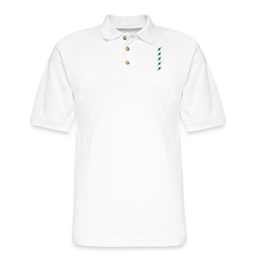 fivehex vector - Men's Pique Polo Shirt