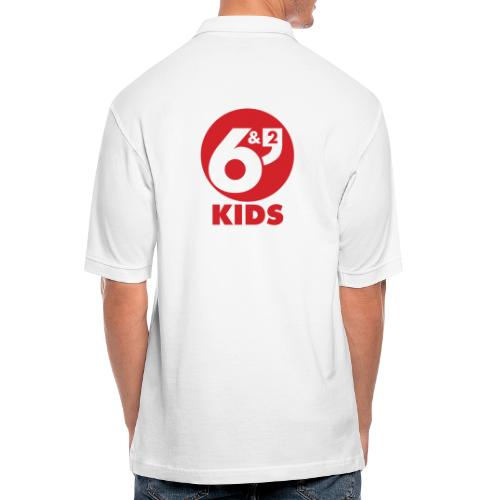 6et2 logo v2 kids 02 - Men's Pique Polo Shirt