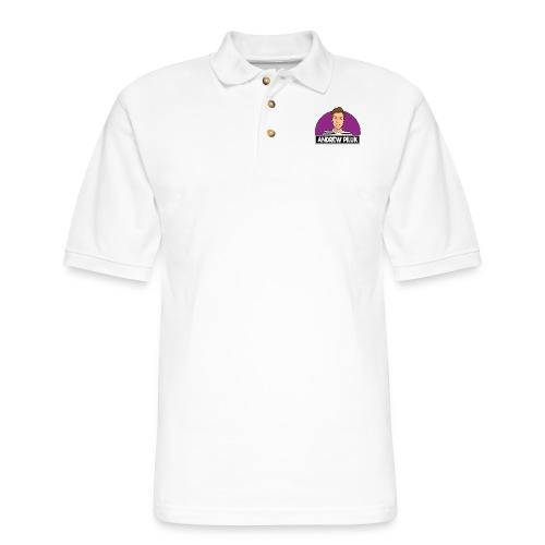 Andrew Piluk Merch! - Men's Pique Polo Shirt
