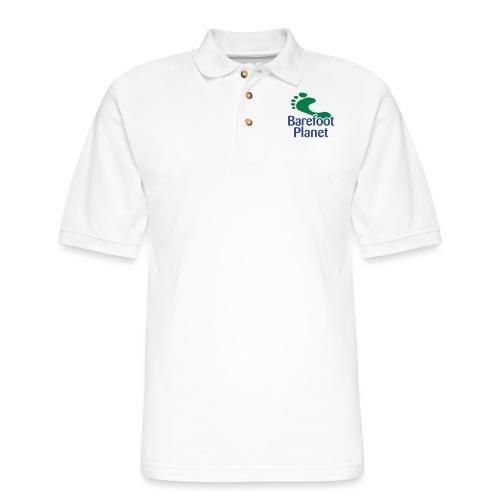 I Run Better, I Run Barefoot Women's T-Shirts - Men's Pique Polo Shirt